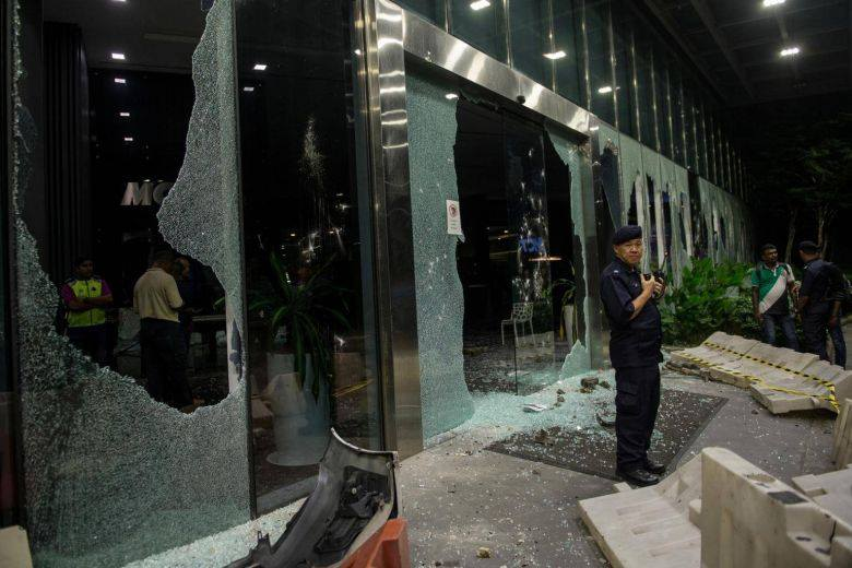 Temple rioters malaysia Pic Viral News