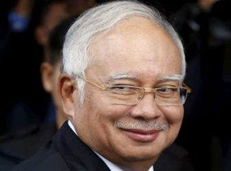 Najib Razak AsiaSentinel file pic