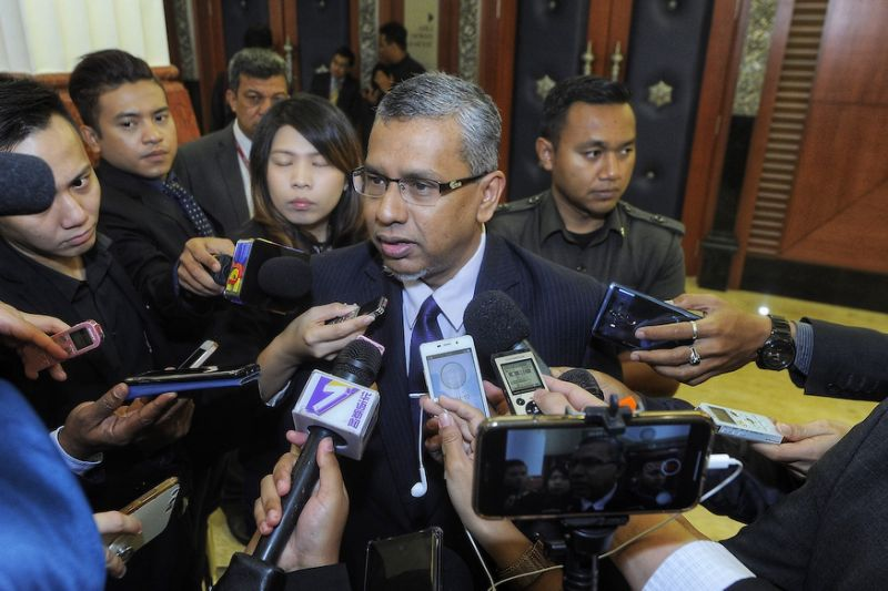 Deputy Minister in the Prime Minister's Department Mohamed Hanipa Maidin Pic Yahoo Singapore
