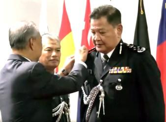 Malaysia new Inspector General of Police Datuk Seri Abdul Hamid Bador