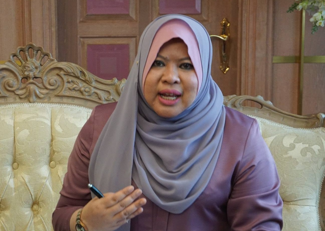Minister of Rural and Regional Development Rina Harun