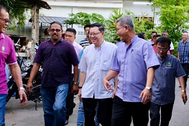 Minister of Finance Lim Guan Eng