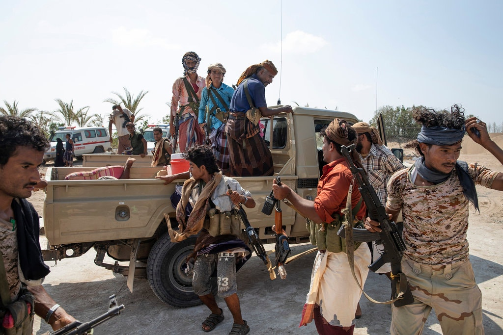 houthis yemen fighters