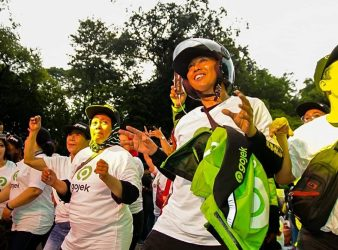 gojek indonesia bike e hailing pic from gojek fb