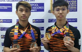 Jason Loo Jun Wei and Augustine Rudy Grocer emerged as taekwondo medal winners at the Sea Games 2019 held in the Ninoy Aquino Stadium Philippines on 7th December 2019.