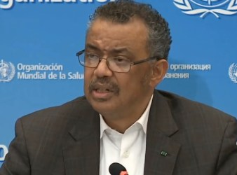 the World Health Organisation WHO director general Dr Tedros Adhanom Ghebreyesus.2