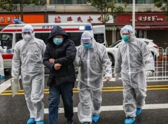 corona virus chinese flee from chna