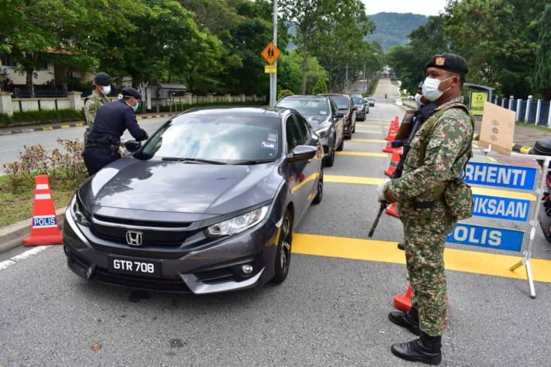 Movement Control Order Mindef malaysia armed forces
