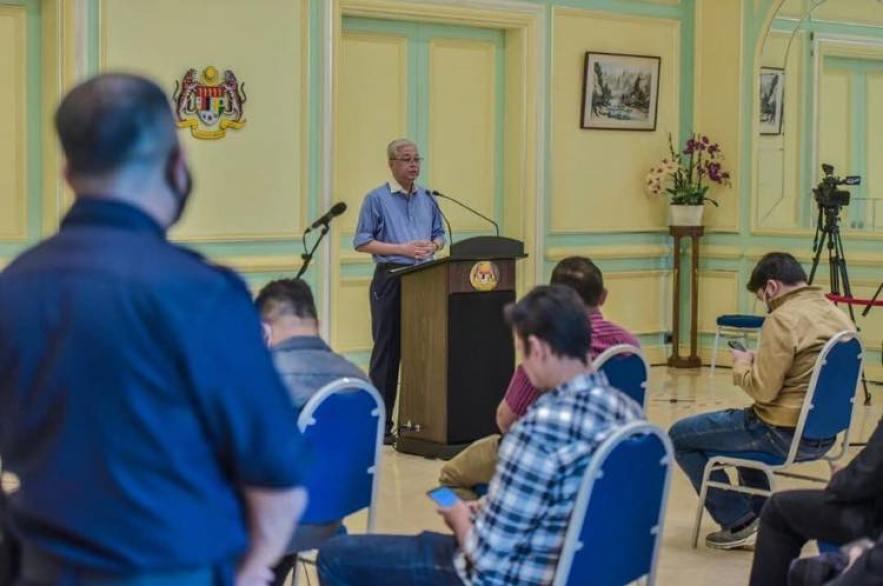 Datuk Seri Ismail Sabri Yaakob covid 19 media