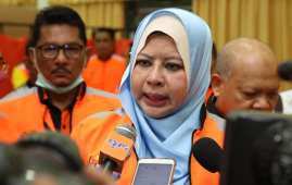Minister of Women and Family Rina Harun