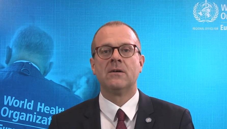 WHO Europe Director Dr Hans Henri Kluge