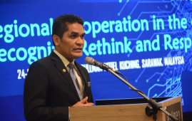 Senior Education Minister Dr. Radzi Jidin