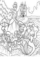 Ausmalbilder Drucken Prinzessin   Malvorlagen