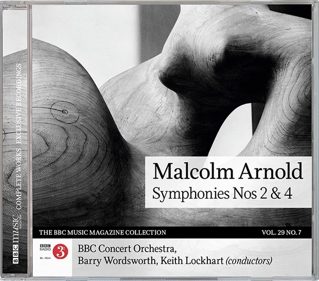 Malcolm Arnold Symphonies Nos 2 & 4 Apr 21 CD