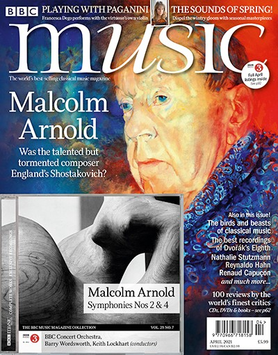 BBC Music Magazine Cover 04/21