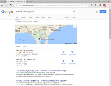 MCPS destinations on Google Maps