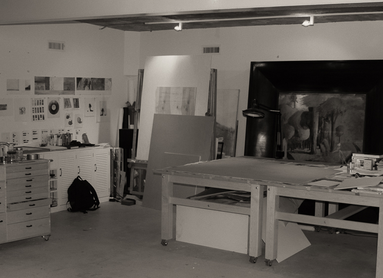 Malcolm Moran's Connecticut Studio