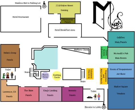 2016 Ramada MALCon Map