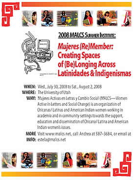 MALCS 2008 flyer