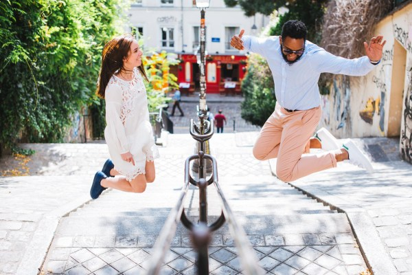 maldeme photographe couple paris save the date lifestyle