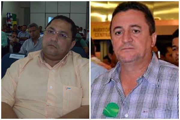 Ex-prefeitos de Passagem Franca, José Antônio Gordinho Rodrigues da Silva; e Lagoa do Mato, Mauro da Silva Porto