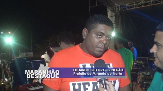 Prefeito Carlos Eduardo Belfort, o Negão.