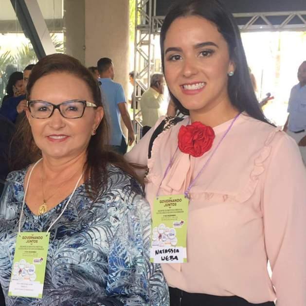 Natassia Weba é contratada pela prefeitura de Nova Olinda de 2016.
