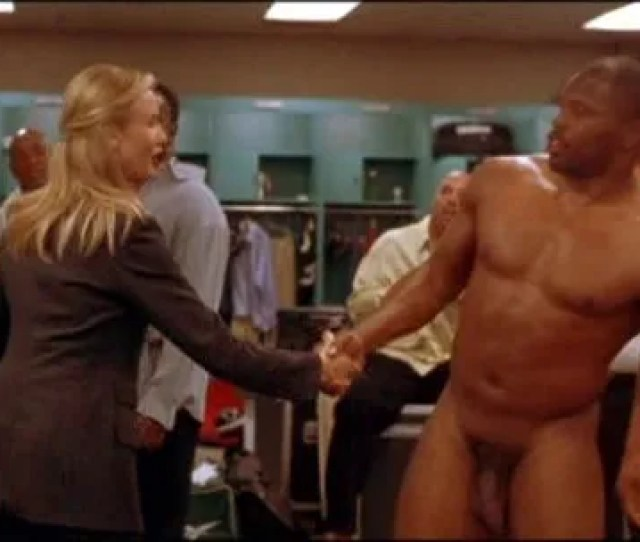Black Nude Men Locker Room