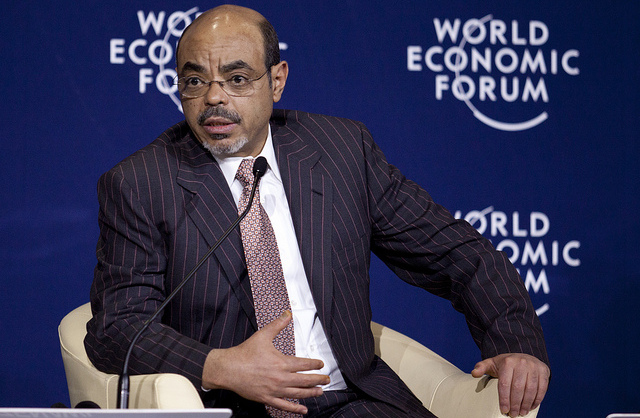 "It is startling that so many consider Zenawi an ""intellectual"" leader, when he needed such bloody policy to enforce his rule. When Western leaders consider this dictator—who rapaciously treated Africa's second-largest nation as his personal property—worthy of not just condolences, but pure adulation, something is very wrong with their value systems.