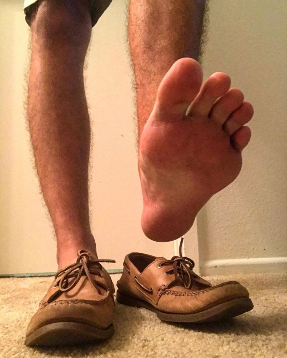 Foot_god_ripley's size 12s sockless in boat shoes