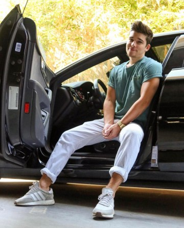 theseanodonnell in Adidas sneakers
