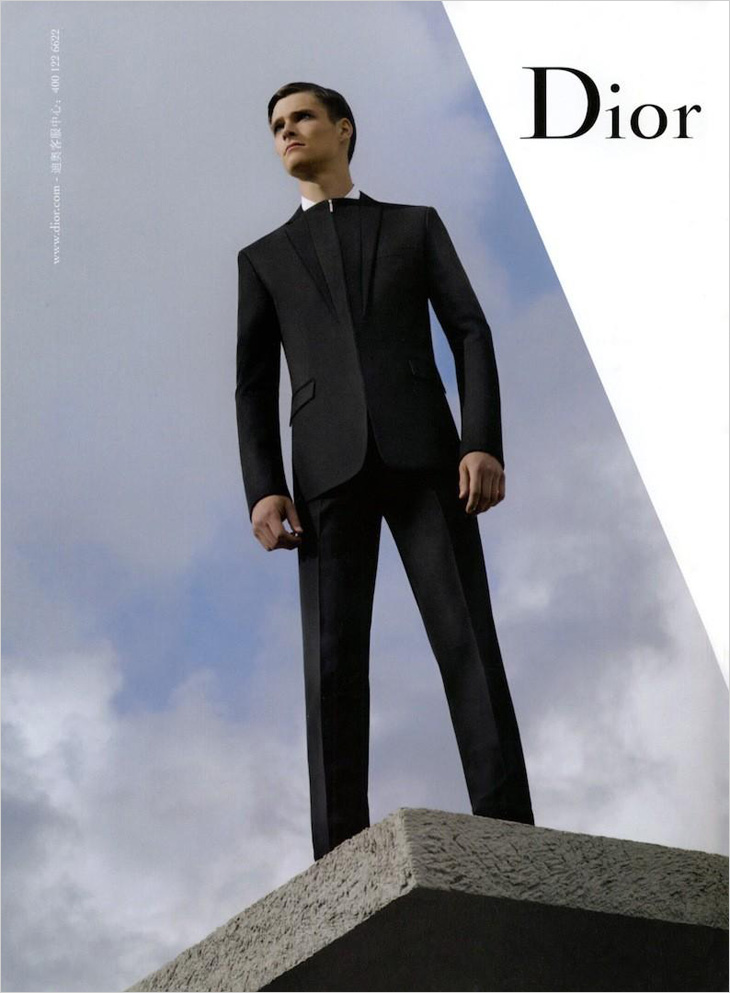 Philip Witts by Karl Lagerfeld for Dior Homme