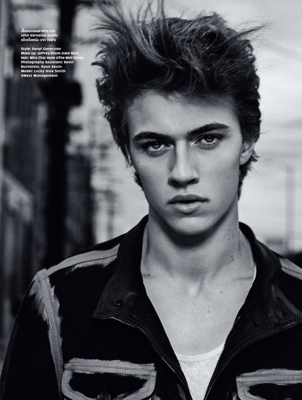 Manly Fall Wallpaper Lucky Blue Smith By Conan Thai For L Optimum Thailand