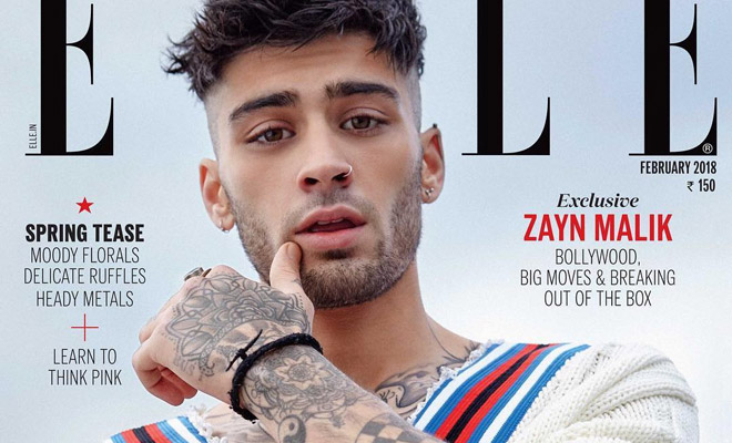 Zayn Malik Is The Cover Boy Of ELLE Magazine India