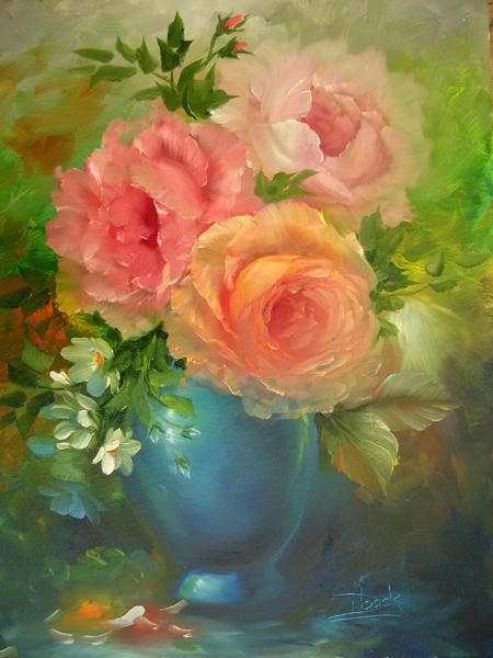 Blumen  Malen mit Stil