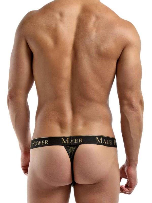 Black Gold Enrichment Thong mens sexy lingerie underwear