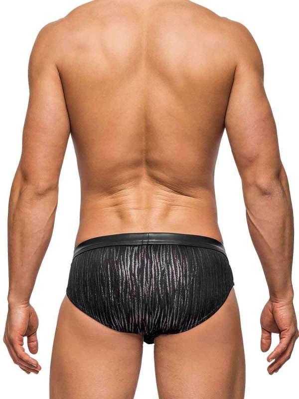 Dazzle Bikini Black mens sexy lingerie underwear