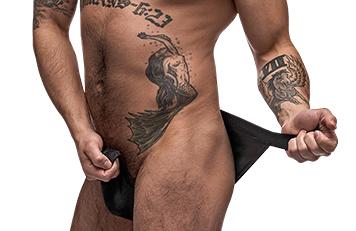 Mens Erotic Underwear Rip off Jockstrap underwear for Men
