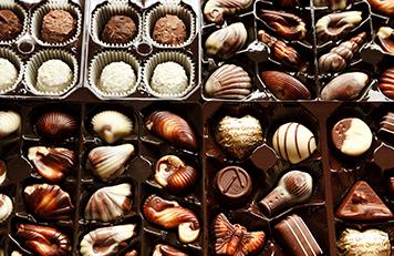 Box of chocolates for Valentine's