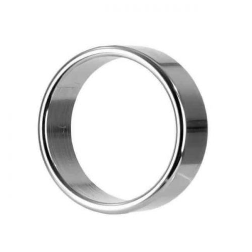 Smooth Metal Cock Ring