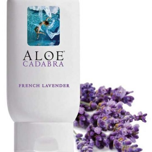 ALOE CADABRA ORGANIC LUBE FRENCH LAVENDER 2.5 OZ