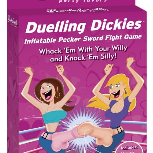 BACHELORETTE DUELING DICKIES INFLATABLE