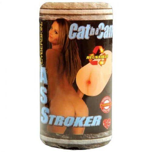 CAT IN A CAN CYBERSKIN ASS STROKER