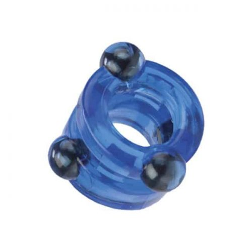(D) MAGNETIC POWER RING DOUBLE BLUE