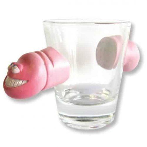 HORIZONTAL PENIS SHOT GLASS