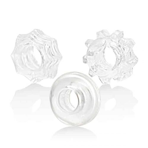 REVERSIBLE RING SET CLEAR