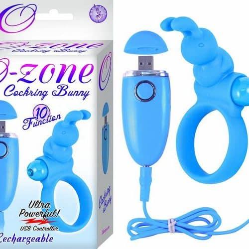 (WD) OZONE COCKRING BUNNY BLUE