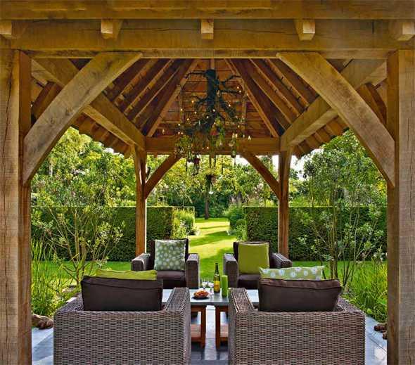 Gartengestaltung Terrasse Uberdacht – Stockyard Info