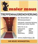 Anzeige-Treppenhausrenovierung