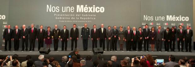 Gabinete Enrique Peña Nieto